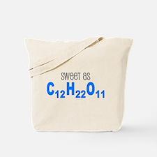 Sweet as Sugar Chemistry Tote Bag