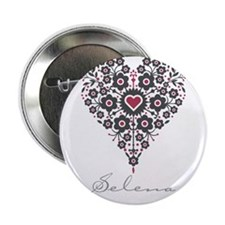 "Love Selena 2.25"" Button"