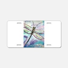 Dragonfly! Nature art! Aluminum License Plate