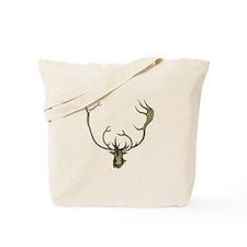 Elk Antlers Tote Bag