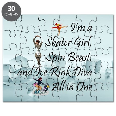TOP Ice Rink Diva Puzzle