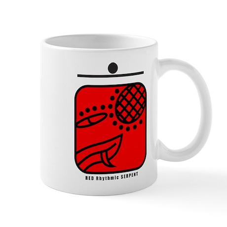 RED Rhythmic SERPENT Mug