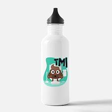 Emoji Poop TMI Water Bottle