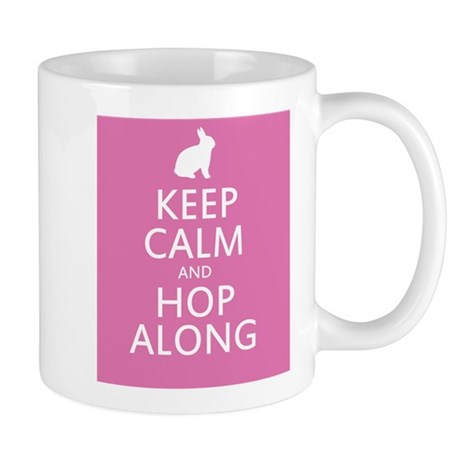 Keep calm and hop along for easter Mug