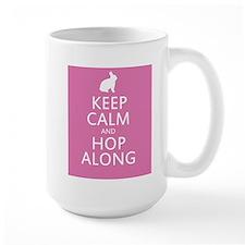 Keep calm and hop along for easter Mug