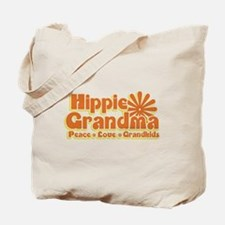 Hippie Grandma Tote Bag