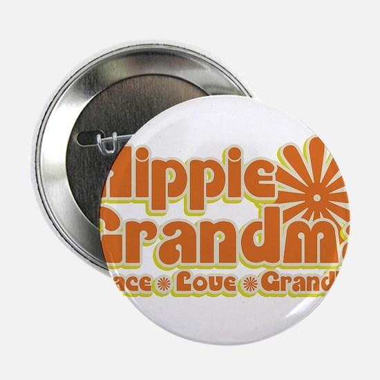"Hippie Grandma 2.25"" Button"