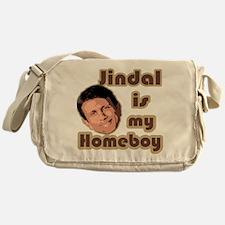 Bobby Jindal is my homeboy Messenger Bag
