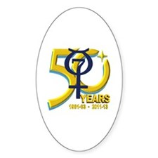 Mercury's 50th Anniversary! Decal