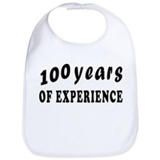 100 years birthday designs Bib