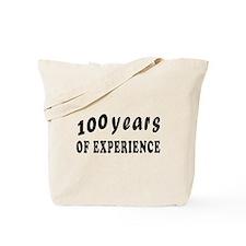 100 years birthday designs Tote Bag