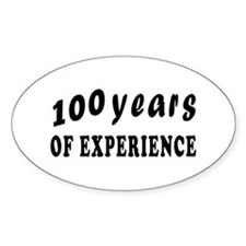 100 years birthday designs Decal