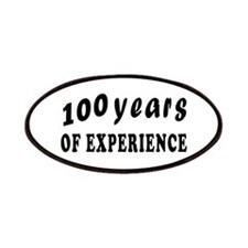 100 years birthday designs Patches