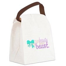 This Beauty Doesnt Need A Beast Canvas Lunch Bag