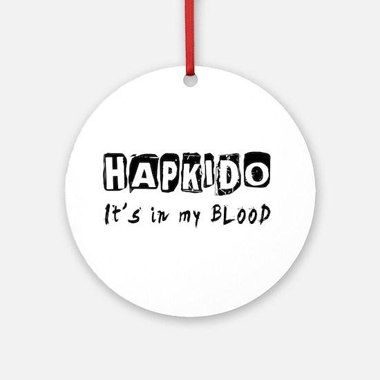 Hapkido Martial Arts Ornament (Round)