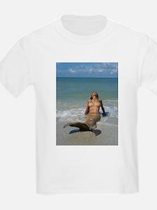 Sunbathing Mermaid T-Shirt