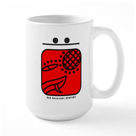 RED Resonant SERPENT Large Mug