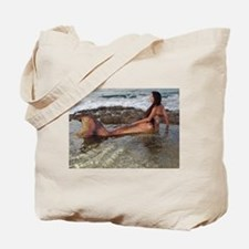 Tidepool Mermaid Tote Bag