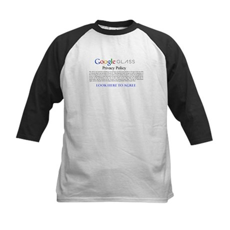 Google Glass Privacy Policy Baseball Jersey