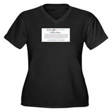 Google Glass Privacy Policy Plus Size T-Shirt