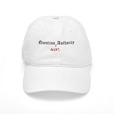 Question Alva Authority Baseball Cap