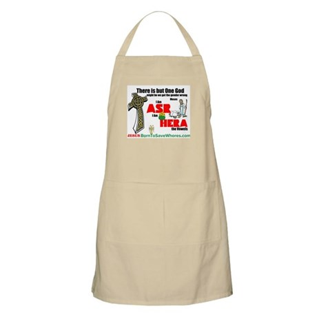 There Is But One God Apron