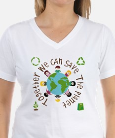 Together Save the Planet Shirt