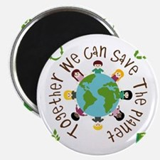 Together Save the Planet Magnet