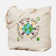 Together Save the Planet Tote Bag