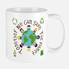 Together Save the Planet Mug