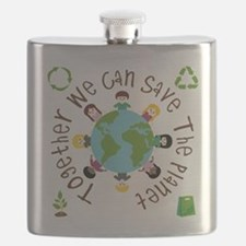 Together Save the Planet Flask