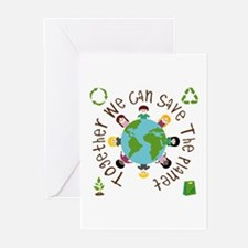 Together Save the Planet Greeting Cards (Pk of 10)