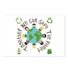 Together Save the Planet Postcards (Package of 8)