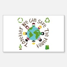 Together Save the Planet Decal