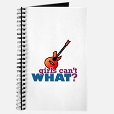 Girls Can't WHAT? Guitar Journal