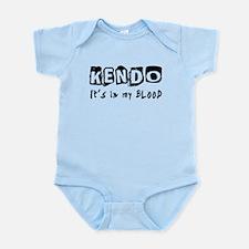 Kendo Martial Arts Infant Bodysuit