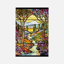Tiffany Landscape Rectangle Magnet