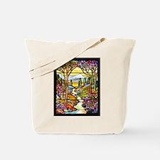 Tiffany Landscape Tote Bag
