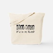 Krav Maga Martial Arts Tote Bag
