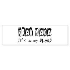 Krav Maga Martial Arts Bumper Sticker