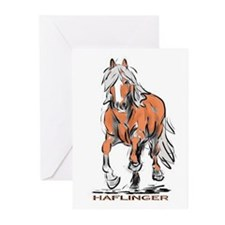Haflinger Greeting Cards (Pk of 10)