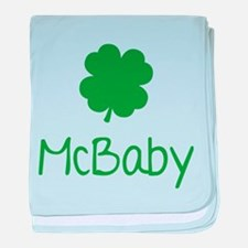 McBaby baby blanket