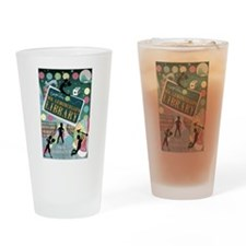 Escape From Mr. Lemoncellos Library Drinking Glass