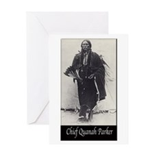 Chief Quanah Parker Greeting Card