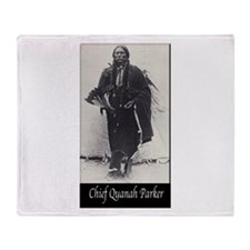 Chief Quanah Parker Throw Blanket