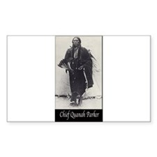 Chief Quanah Parker Decal