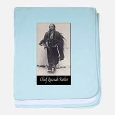 Chief Quanah Parker baby blanket