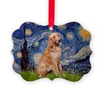 Starry - Golden 1 Picture Ornament