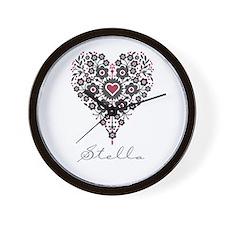 Love Stella Wall Clock