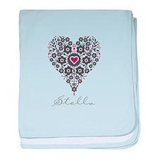 Love Stella baby blanket